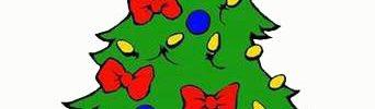 geschmueckter Weihnachtsbaum, Comic